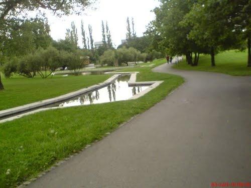 Praha - Park přátelství na Proseku