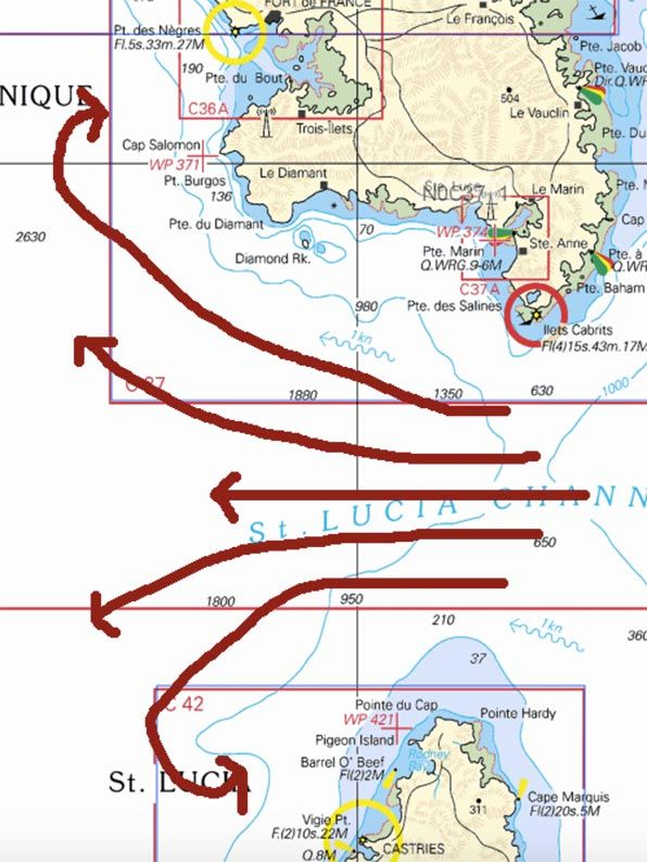 Not long ago I responded to an inquiry on the internet from a relatively new sailor. She had been asking about sailing in the Windward and Leeward Islands, specifically about inter-island passages, and the conditions that she might expect to find along the way. What I attempted to describe to her is as follows. It …