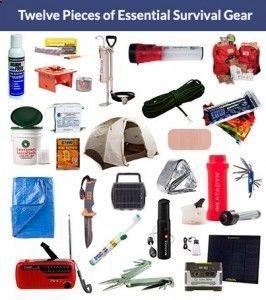 12 Pieces of Essential Survival Gear