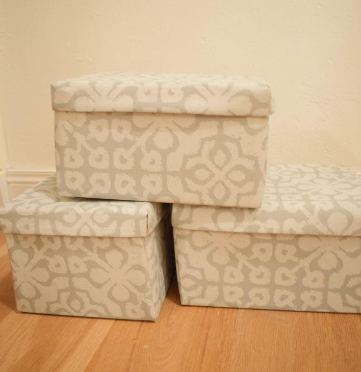 Heb je nog een opbergdoos of opbergdozen? Ga zelf aan de slag:deze doos versieren, doos beplakken of doos bekleden. Wees creatief en maak er iets moois van!