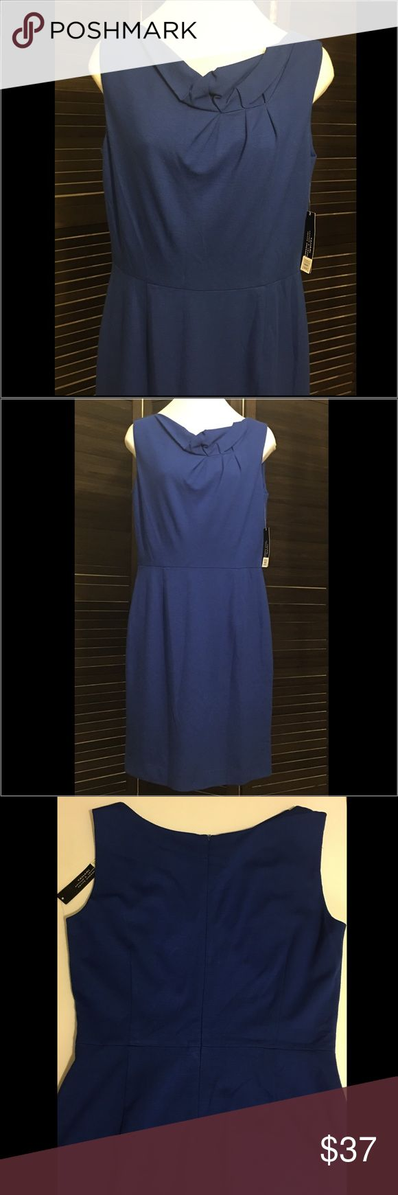 NEW TAHARI SOFIE BLUE DRESS New tahari sofie dress/ size: 8 P / color: Blue /MSRP: 128.00 / No Weekend shipping!!! Thank you!!! Tahari Dresses