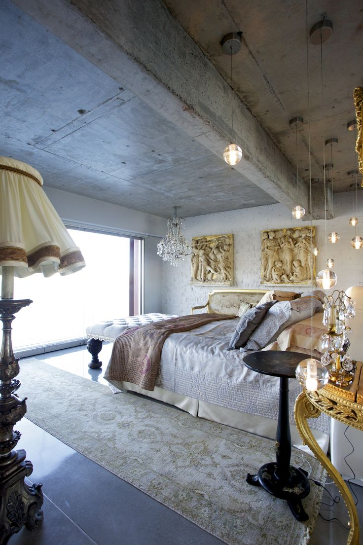 W House Bedroom - Bruce Stafford Architects