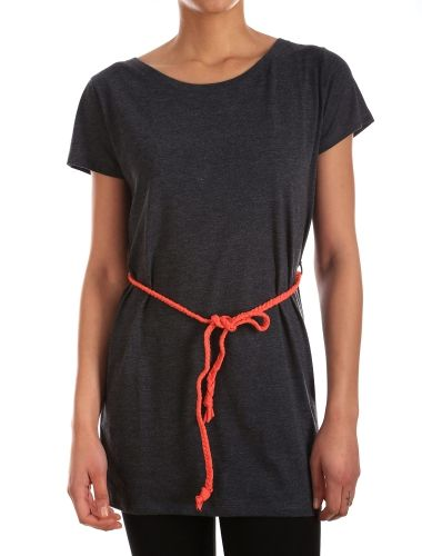 Schlesi Dress [anthra mel.] // IRIEDAILY Dresses Women // FALL/WINTER 2014: http://www.iriedaily.de/women-id/women-dresses/ #iriedaily