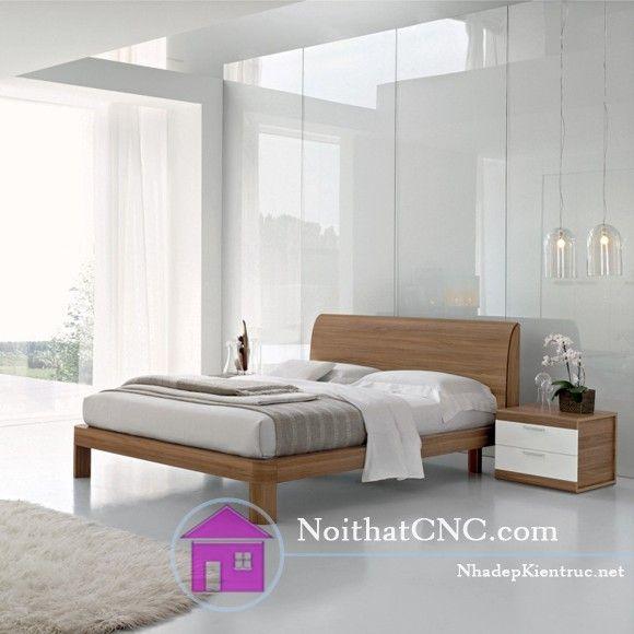 Mẫu giường ngủ gỗ đẹp 7