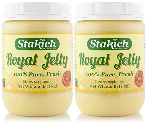 Stakich FRESH ROYAL JELLY 2 KG - 100% Pure, All Natural, Top Quality - * Details can be found by clicking on the image.