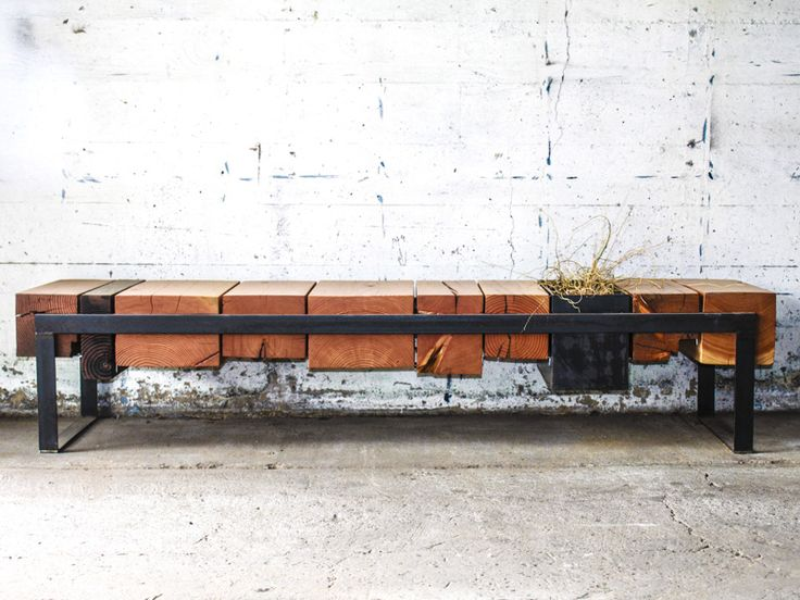 A local company that creates beautiful pieces fit for any space: office, garden, home, retail, etc. FWD Bench.