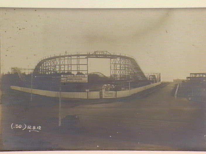 Luna Park and Palais Theatre site 12 August 1912