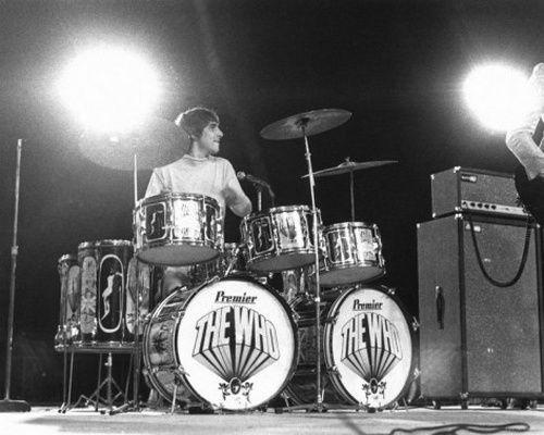 Keith Moon, 1966.