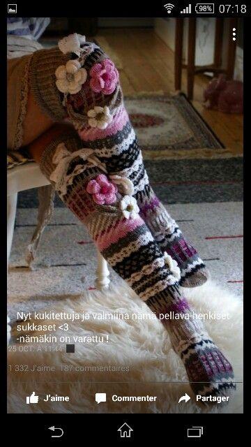Видео вязание носков с мыска