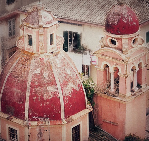the mysterious old town #travel #greece #corfutown #mezzomezzocorfu #architecture #design