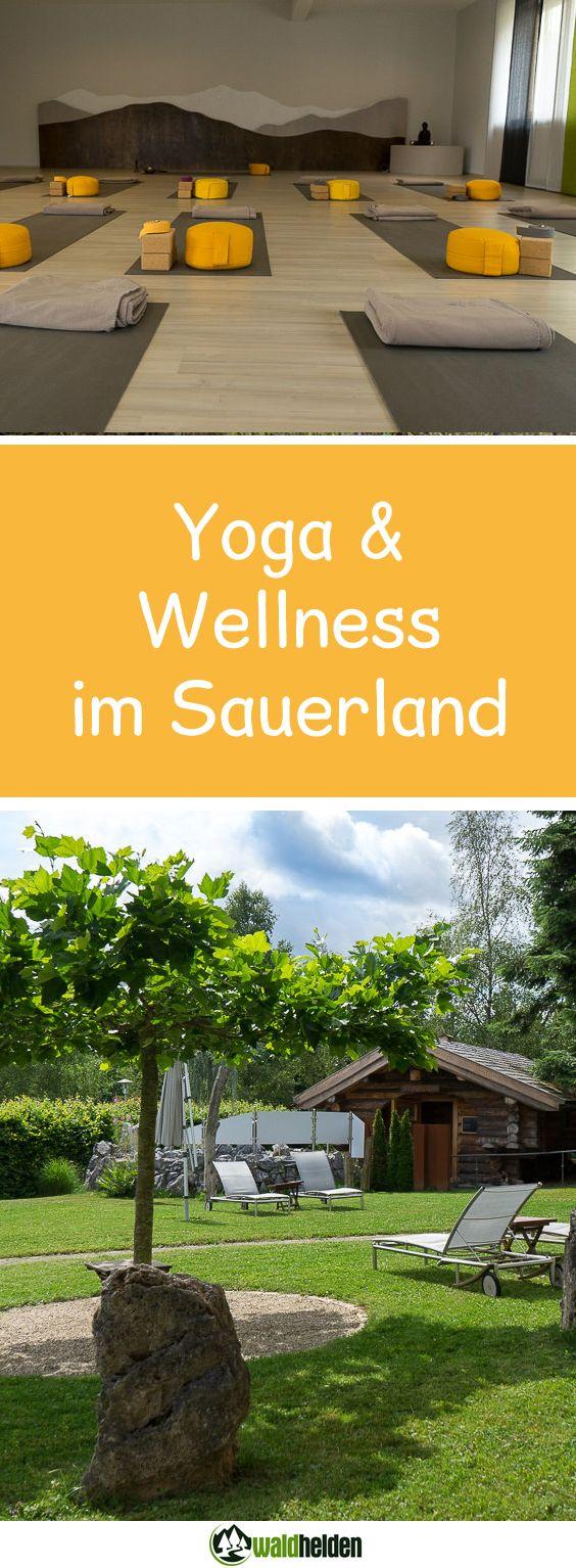 Yoga und Wellness im Sauerland. Top Sporthotel auch zum Wandern, Mountainbiken oder Reiten.