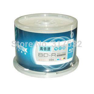 free shipping Ritek BD-R 50GB blue ray Disc inkjet Printable 6X  10pcs/lot //Price: $34.20 & FREE Shipping //     #hashtag1