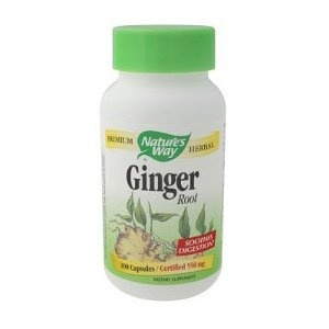 Taking Ginger tablets in conjunction with parsley tea and progesterone in hopes of naturally bringing on a period. (Started 1/24/13)