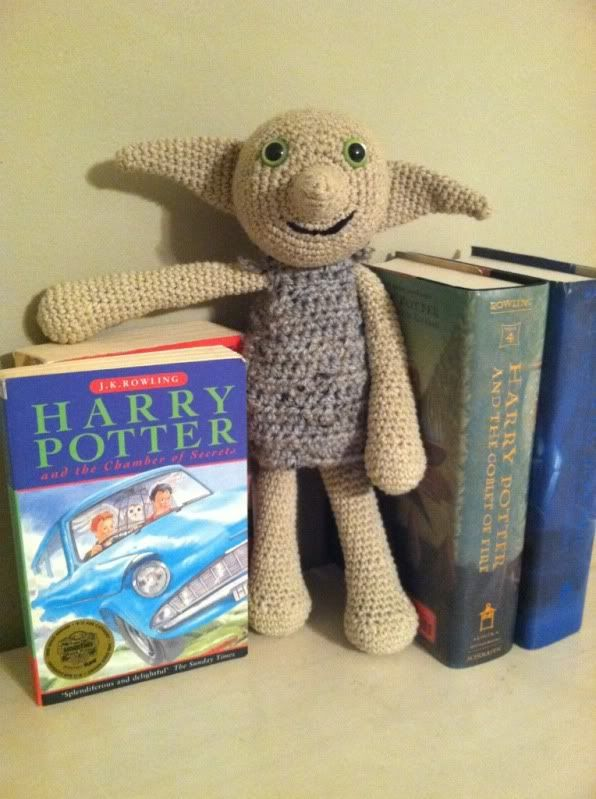 Dobby the House Elf - CROCHET    This is an elf on the shelf I could actually do!
