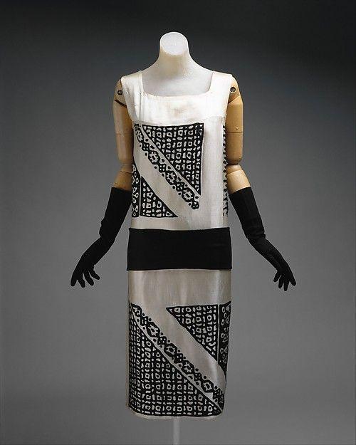DressDrécoll, 1924The Metropolitan Museum of Art