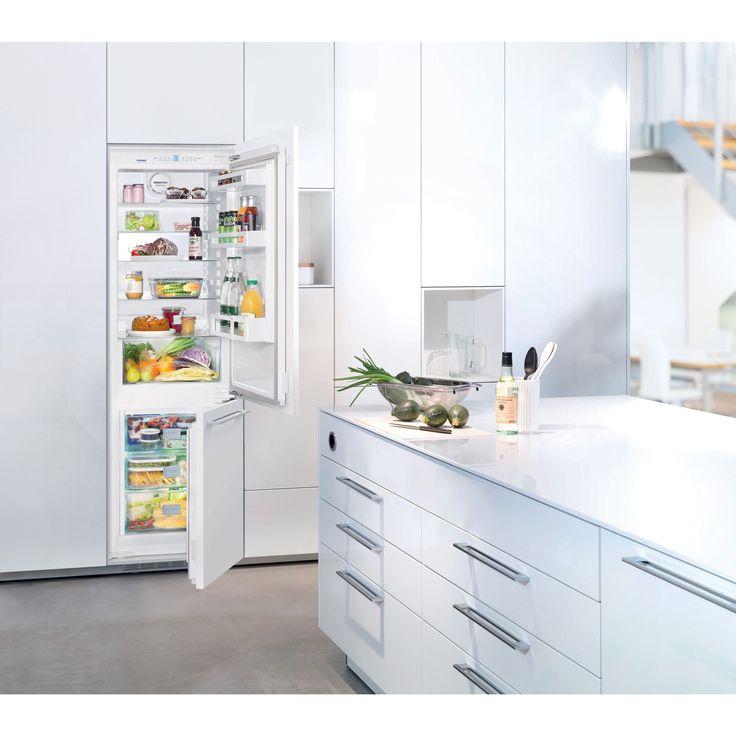 Liebherr HC 1030 Premium Plus NoFrost 24 inch Fully Integrated Refrigerator & Freezer (Right Hinge Door - Reversible - Non-icemaker), White (Aluminum)