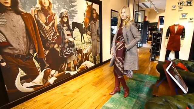 Shop @Vogue Italia's interactive virtual store tour of Tommy Hilfiger Milan