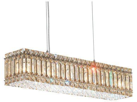Schonbek Quantum Six-Light Island Light