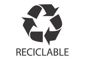 Free Logo Vector Download: Logo Reciclable Vector