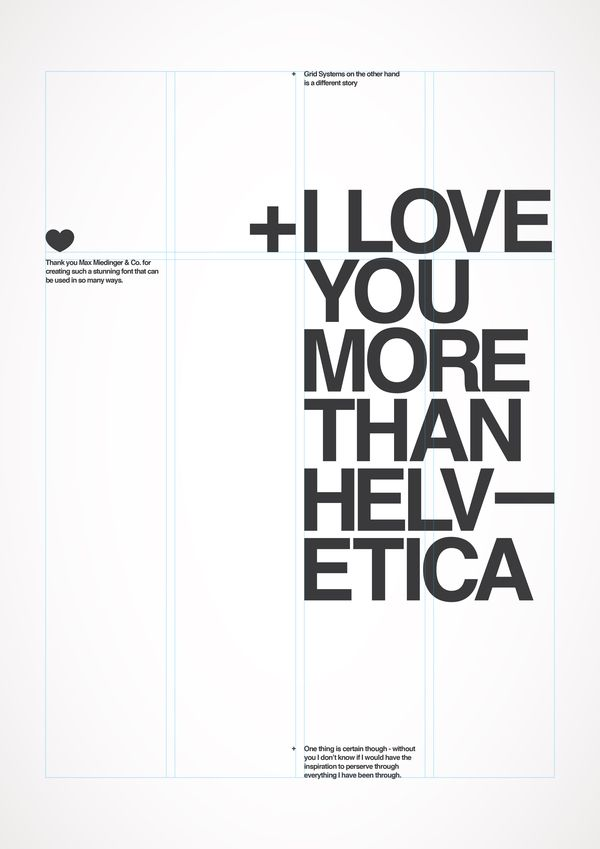 : I Love You, Graphics Design, Love You More, Art Illustrations Fonts Prints, Helvetica, Types, Typography, Design Posters, Typographic Inspiration