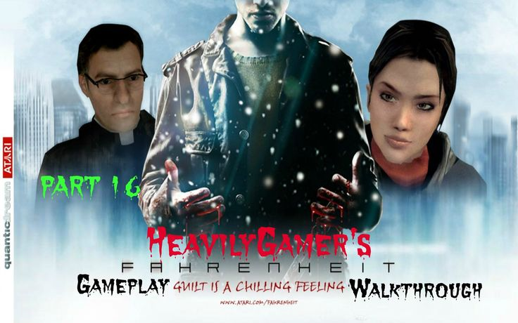 Fahrenheit Gameplay Walkthrough Part 16:Lucas' Apartment-The Storm