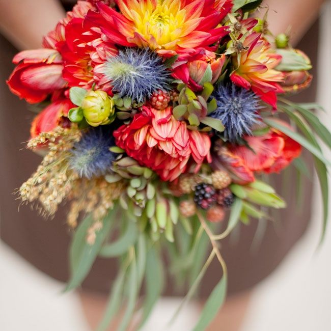 Fall Flower Trend Big Blooms Olive Juice Studios From 7 Hot Wedding Trends To Steal Right Now Photos Ideas