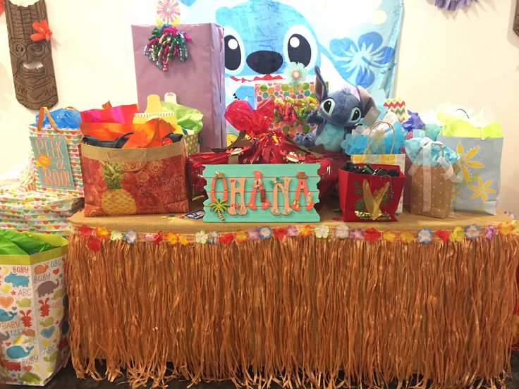 108 Best Images About Lilo And Stitch Luau Baby Shower On
