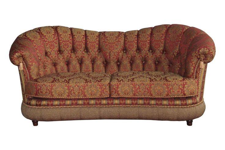 Коллекция итальянской мебели Палаццо от Аллегро-Стиль: диван Медичи мод.2