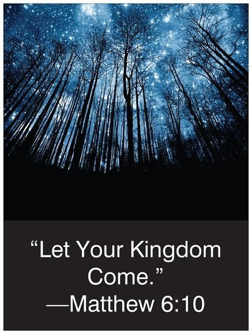 """Custom 2014 Yeartext Poster 18""""x24"""" JW.org Ministry Jehovah's Witnesses Gift"""