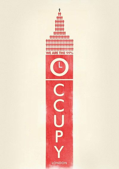 Occupy London Poster