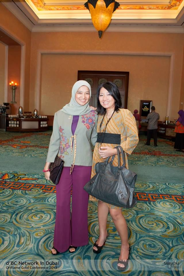 ada yg kehilangan & kangen mbak Nadia Meutia  ya kan bubu Sharah Saleh Sugarda & mbak Dini Shanti ? #OriflameGC2013