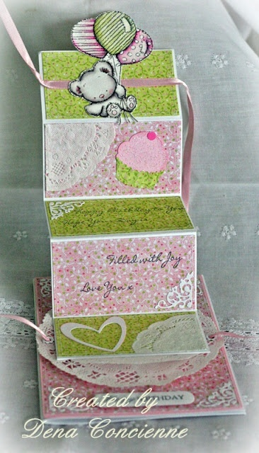 Inspiration from DT Dena - Patchwork Bunch of Balloons