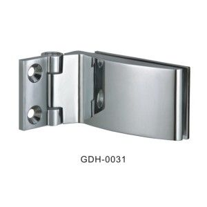 Wall to Glass Beveled Edge Square Glass Door Hinges[GDH-0031]