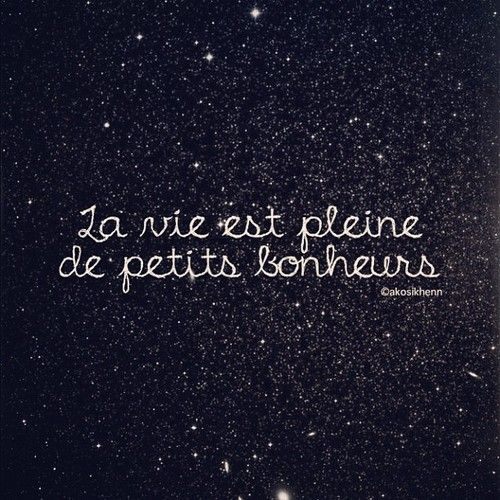 Life is full of little pleasures.