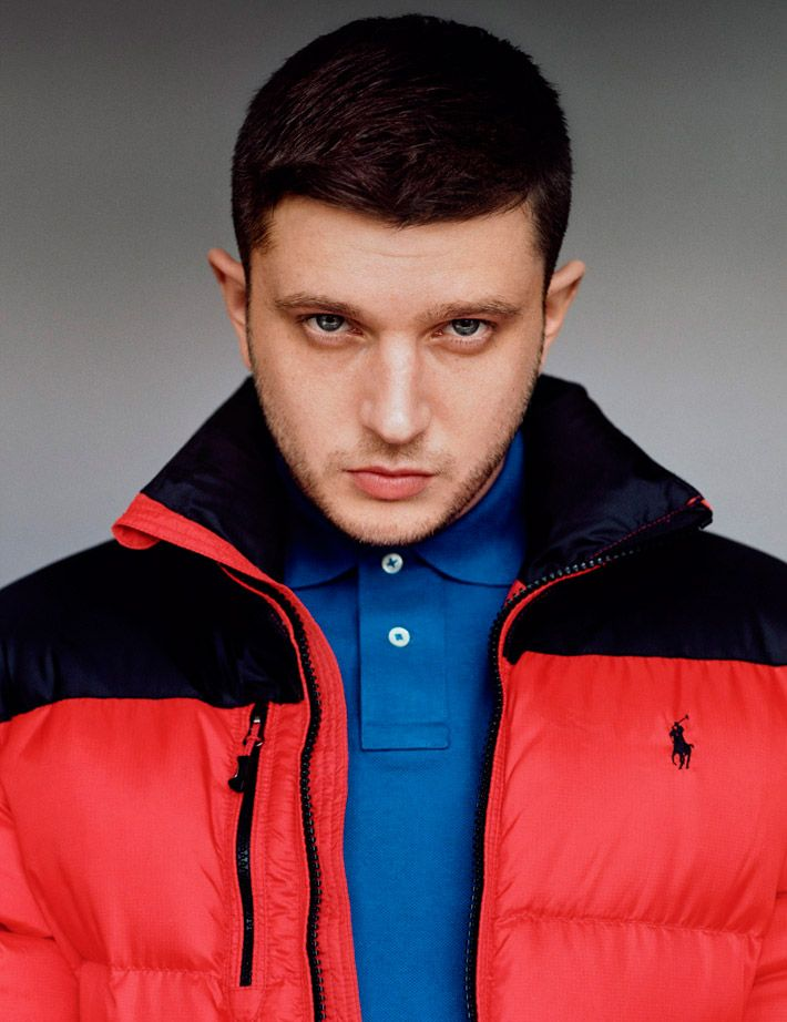 """English rapper Ben Drew (aka Plan B) cover """"The Just Kids Issue"""" of i-D magazine, photographed by Alasdair McLellan."""