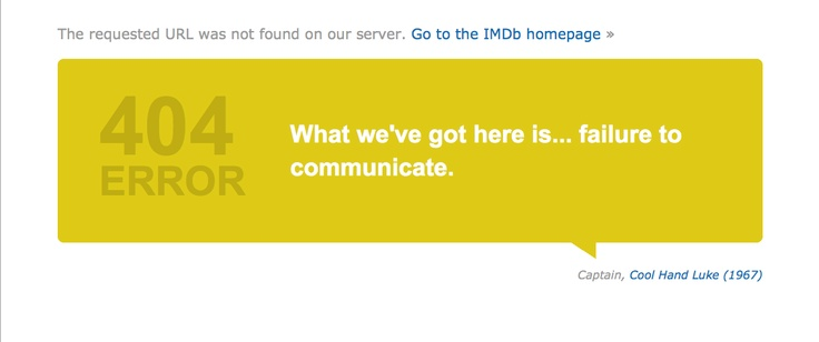 Brilliant - it displays a different, but relevant, quote every time it reloads.