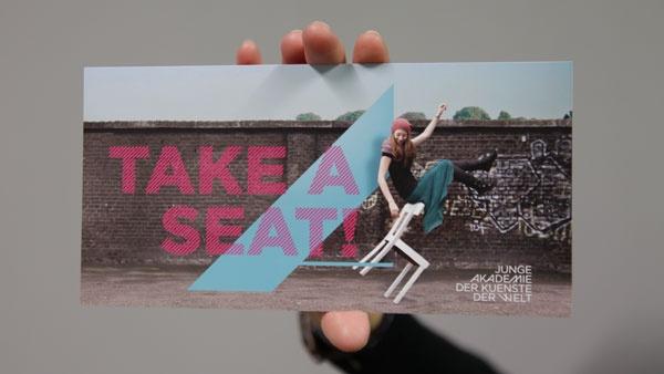 Corporate Identity für die Junge Akademie der Künste der Welt © FEEDMEE