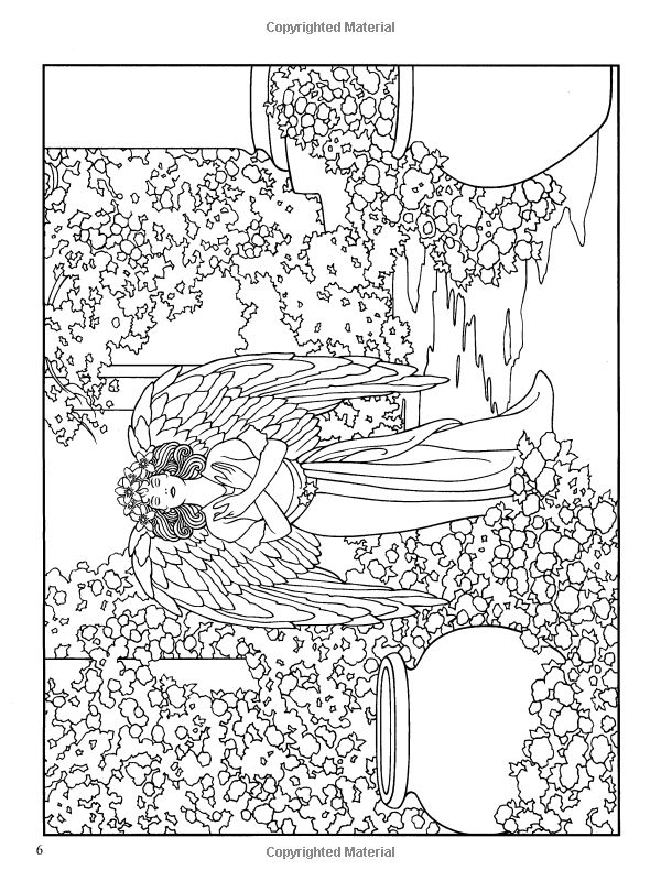 angels coloring book dover coloring books marty noble 9780486467757 amazon - Coloring Book Angels