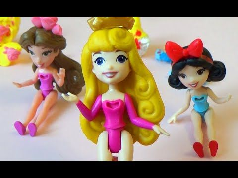 Куколки Жасмин Бель Аврора Белоснежка Дисней Little Kingdom Bella Jasmin...