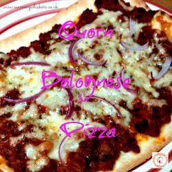 Quorn Bolognese Pizza