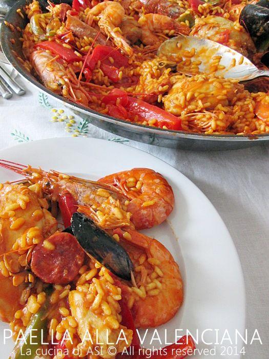 la paella valenciana La cucina di ASI