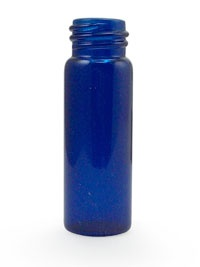 Cobal Blue & Amber Vials for essential oils - cheap website! They have other containers (tin, glass, etc)