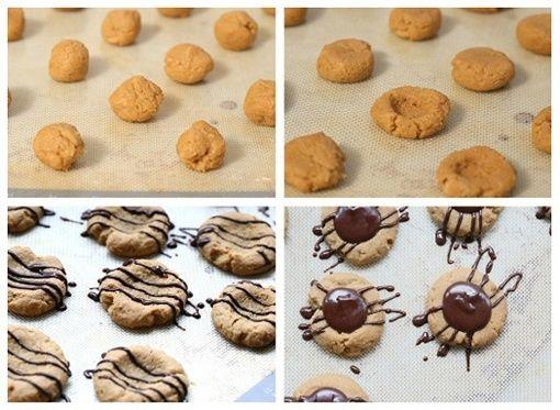 galletas con azucar moreno y chocolate