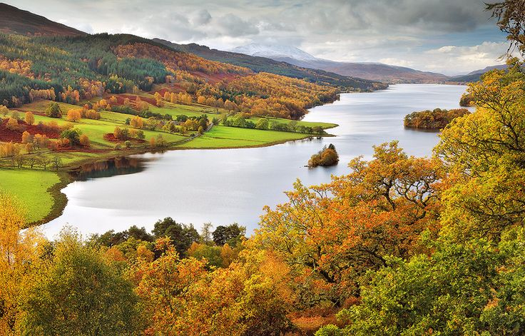 Perthshire, Scotland. Our tips for 25 fun things to do in Scotland: http://www.europealacarte.co.uk/blog/2010/12/30/things-scotland/