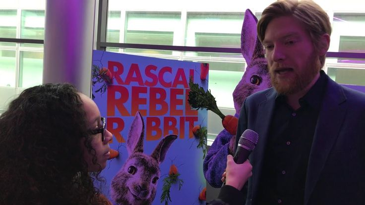 Peter Rabbit Interviews conducted by KIDS FIRST! Film Critic Carla P. #KIDSFIRST! #PeterRabbit