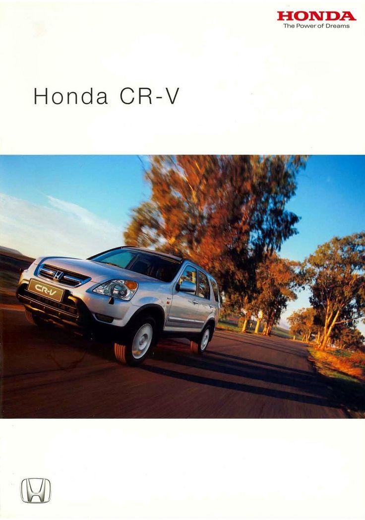 1000 images about honda cr v brochures 2002 2006 on for Honda cr v brochure