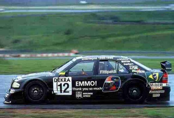 Os carros do DTM em Interlagos em 1996 - Drive Tube