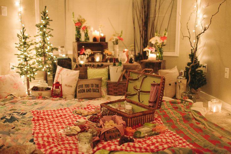 romantic indoor picnic family stuff pinterest