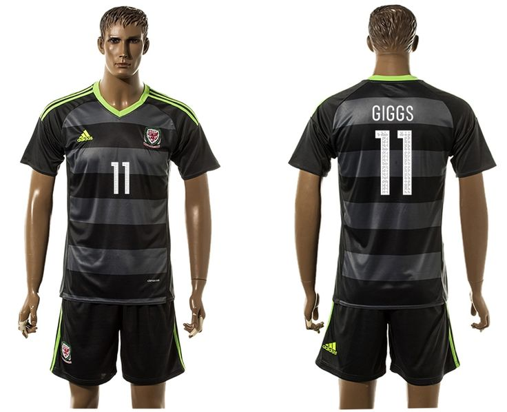 camiseta wales 2016 eufa segund equipacion GIGGS,welcome to our online shop to buy camiseta de futbol baratas.