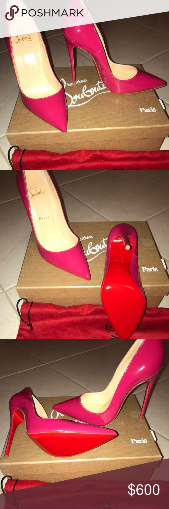 "Christian louboutin SO KATE  ""Brand New"" Rosa Brand New Christian louboutin  120 ""So Kate"" size 37 1/2.     Includes: Box, Dust Bag and extra heel stoppers Christian Louboutin Shoes Heels"